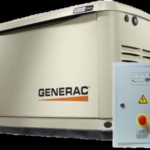 Газовый генератор GENERAC 7046 с АВР