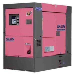 Дизельный генератор Denyo DCA-45USI2 с АВР