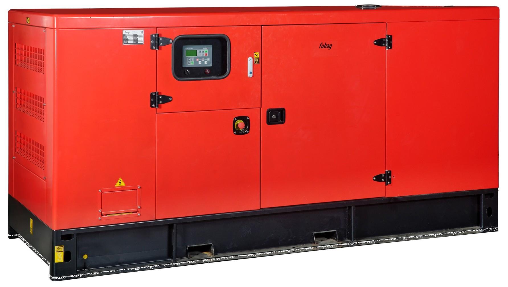Дизельный генератор FUBAG DS 165 DAC ES с АВР
