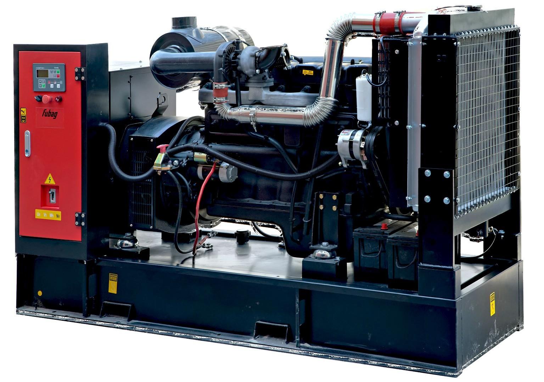 Дизельный генератор FUBAG DS 375 DA ES с АВР