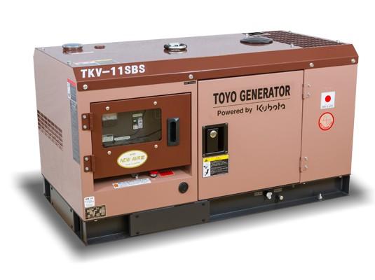 Дизельный генератор TOYO TKV-11SBS с АВР