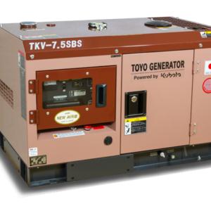 Дизельный генератор TOYO TKV-7.5SBS с АВР