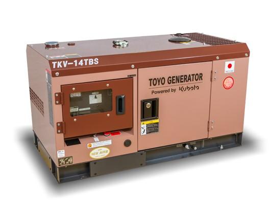Дизельный генератор TOYO TKV-15SBS с АВР