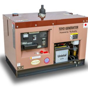Дизельный генератор TOYO TKV-11SPC с АВР