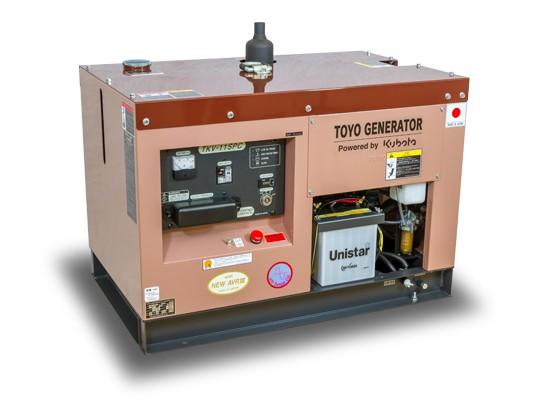 Дизельный генератор TOYO TKV-11SPC