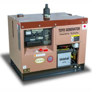 Дизельный генератор TOYO TKV-7.5SPC с АВР