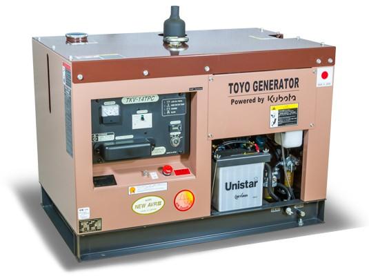 Дизельный генератор TOYO TKV-15SPC с АВР