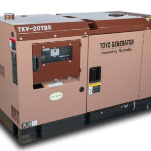 Дизельный генератор TOYO TKV-14TBS с АВР