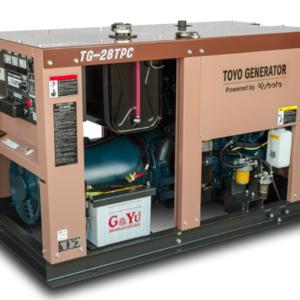 Дизельный генератор TOYO TG-19TPC с АВР