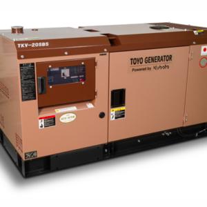 Дизельный генератор TOYO TKV-20TBS с АВР