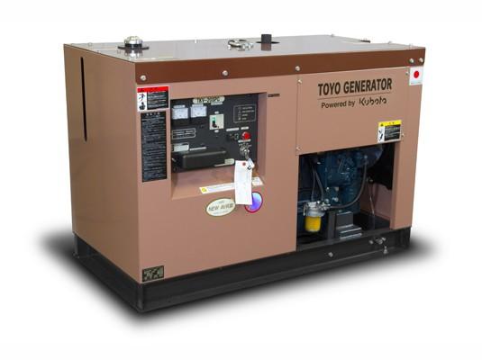 Дизельный генератор TOYO TKV-20TPC  с АВР