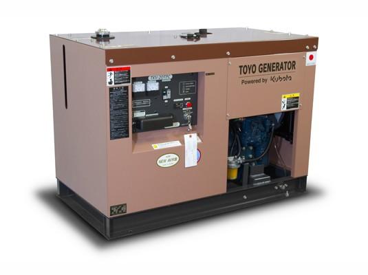 Дизельный генератор TOYO TKV-14TPC с АВР