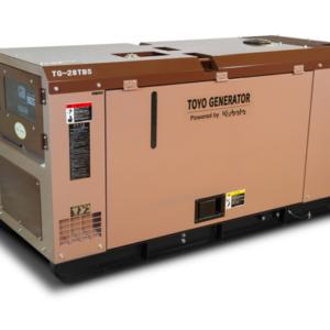 Дизельный генератор TOYO TG-19TBS с АВР