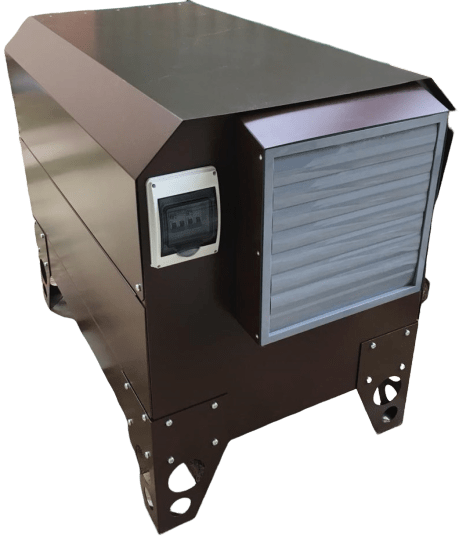 Дизельный генератор ВЕПРЬ АДП 20-Т400 ВЛ-БС в кожухе