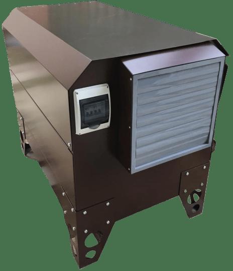 Дизельный генератор ВЕПРЬ АДП 10-230 ВЛ-БС в кожухе с АВР