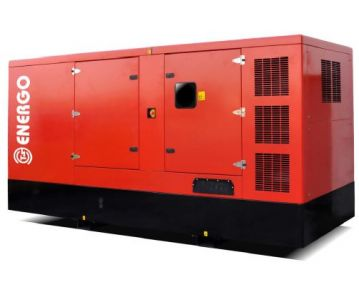 Дизельный генератор ENERGO ED500/400 IV-S в кожухе с АВР