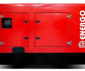 Дизельный генератор ENERGO ED100/400 IV-S в кожухе с АВР