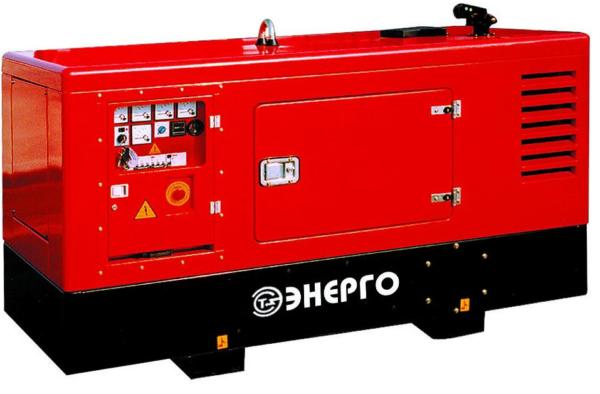 Дизельный генератор ENERGO ED60/400 IV-S в кожухе с АВР