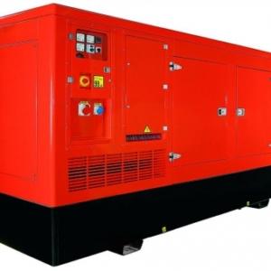 Дизельный генератор ENERGO ED250/400 IV-S в кожухе с АВР