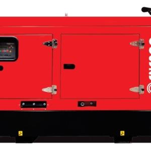 Дизельный генератор ENERGO ED185/400 IV-S в кожухе с АВР