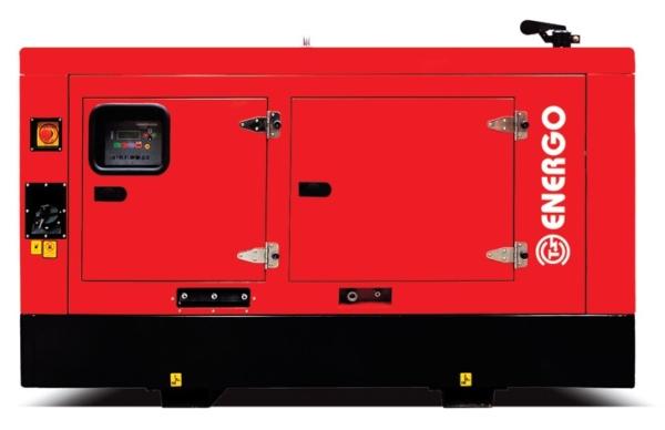 Дизельный генератор ENERGO ED125/400 IV-S в кожухе с АВР