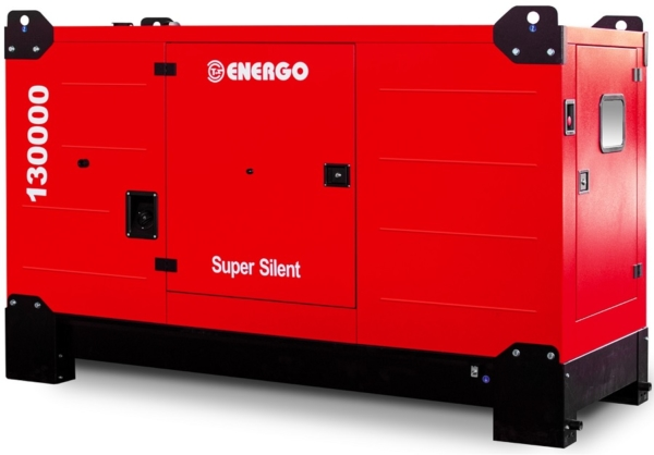 Дизельный генератор ENERGO EDF 130/400 IVS в кожухе с АВР