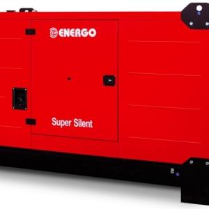 Дизельный генератор ENERGO EDF 200/400 IVS в кожухе с АВР