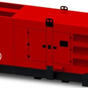 Дизельный генератор ENERGO EDF 200/400 VS в кожухес АВР