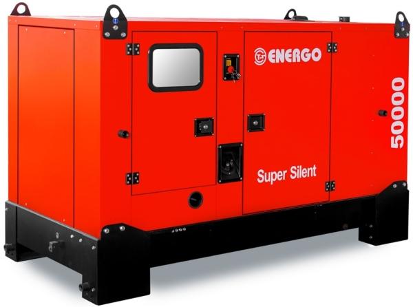 Дизельный генератор ENERGO EDF 50/400 IVS в кожухе с АВР