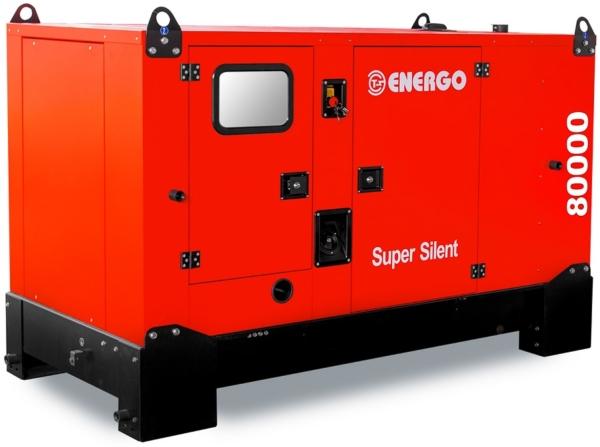 Дизельный генератор ENERGO EDF 100/400 IVS в кожухе с АВР