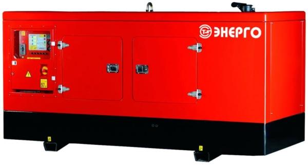 Дизельный генератор ENERGO ED300/400 IV-S в кожухе с АВР