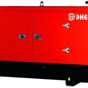 Дизельный генератор ENERGO ED350/400 IV-S в кожухе с АВР