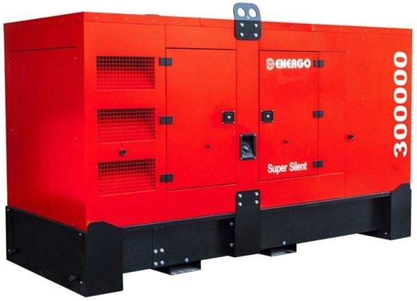 Дизельный генератор ENERGO EDF 300/400 DS в кожухе с АВР