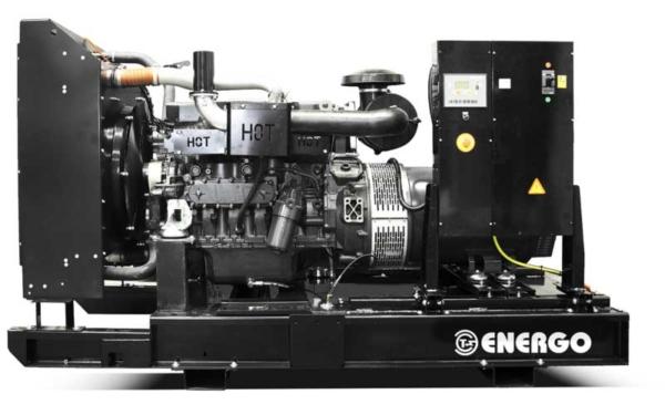 Дизельный генератор ENERGO ED185/400 IV с АВР