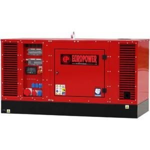 Дизельный генератор EUROPOWER EPS 34 TDE в кожухе с АВР