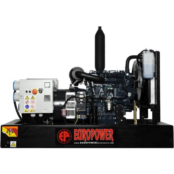 Дизельный генератор EUROPOWER ЕР 163 DE с АВР
