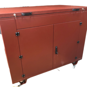 Бензогенератор ELEMAX SHT11500-R в контейнере с АВР