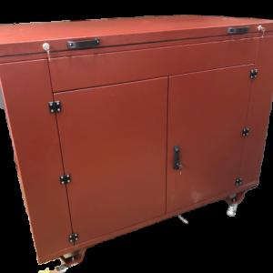 Бензогенератор ELEMAX SH6500EX-RS в контейнере с АВР