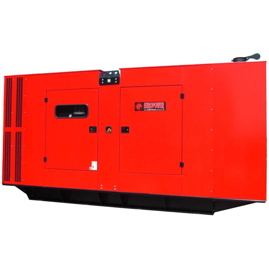 Дизельный генератор EUROPOWER EPS 600 TDE в кожухе с АВР