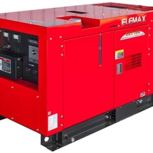 Дизельный генератор ELEMAX SHT15D-R в кожухе с АВР