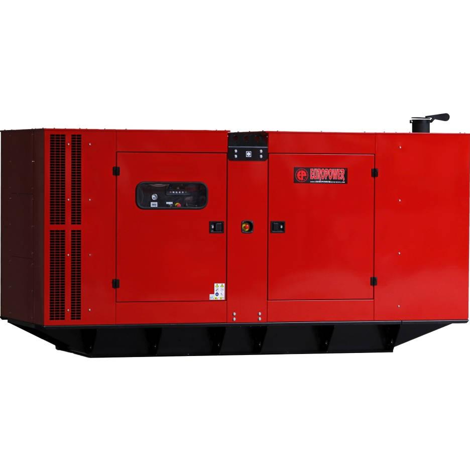 Дизельный генератор EUROPOWER EPS 315 TDE в кожухе с АВР