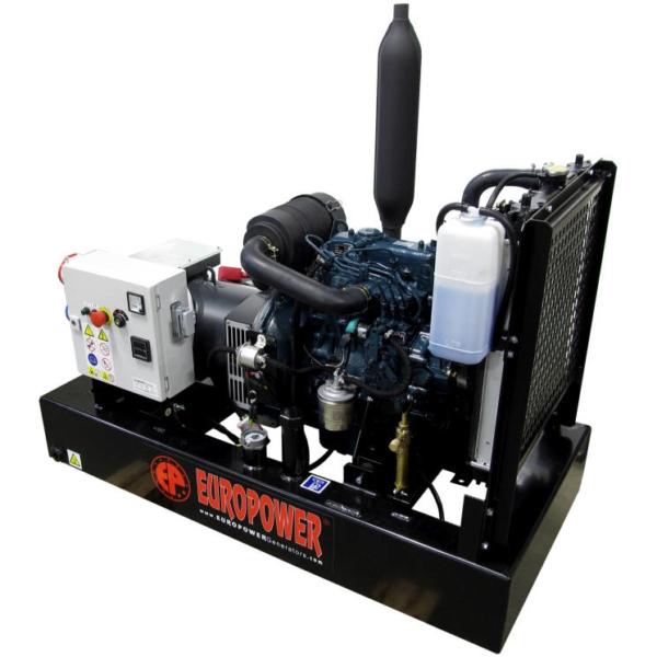 Дизельный генератор EUROPOWER EP 183 TDE с АВР