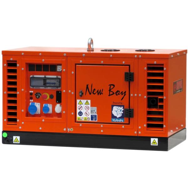 Дизельный генератор EUROPOWER EPS 73 DE в кожухе