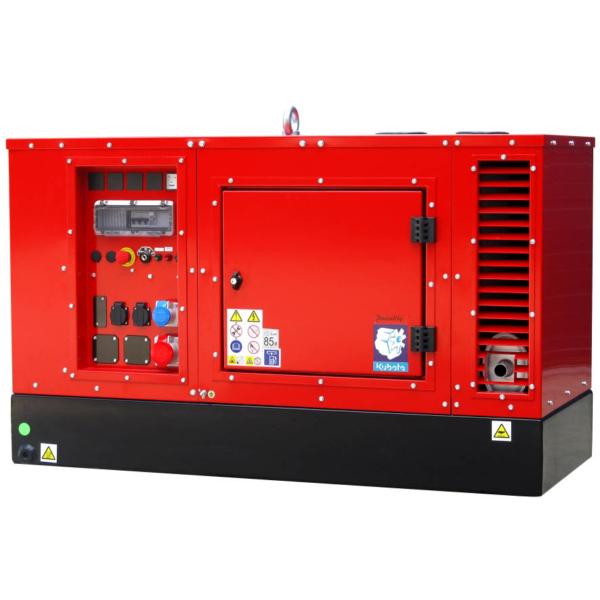Дизельный генератор EUROPOWER EPS 183 TDE с подогревом в кожухе