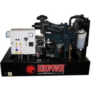 Дизельный генератор EUROPOWER EP 73 DE с АВР
