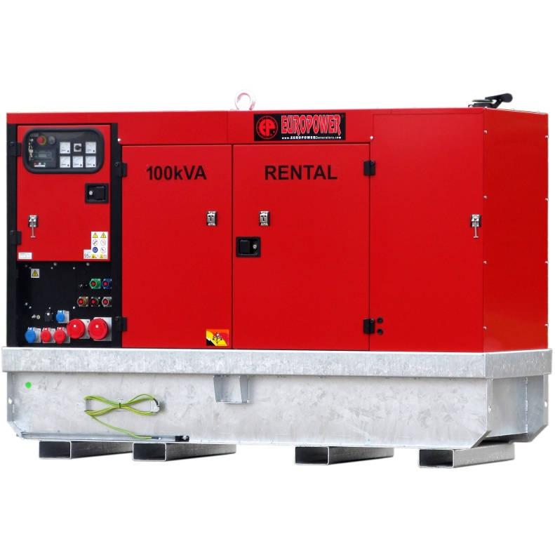 Дизельный генератор EUROPOWER EPSR 100 TDE в кожухе с АВР