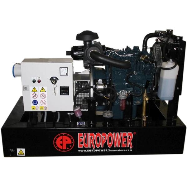Дизельный генератор EUROPOWER EP 11 DE с АВР