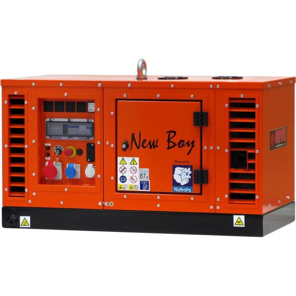Дизельный генератор EUROPOWER EPS 83 TDE в кожухе