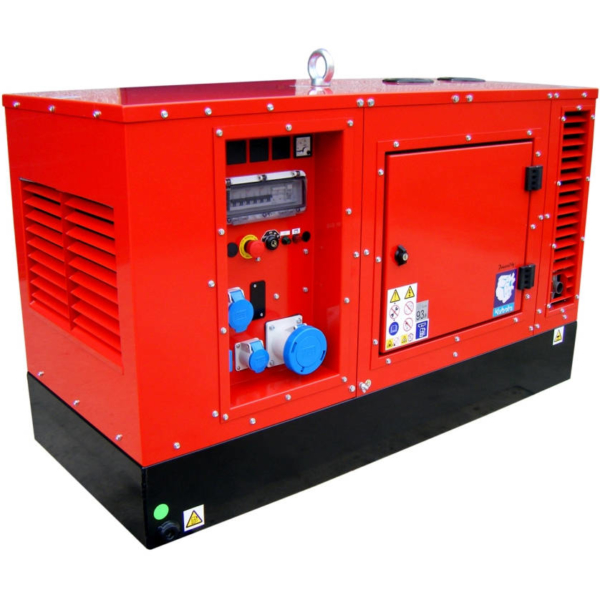 Дизельный генератор EUROPOWER EPS 18 DE в кожухе