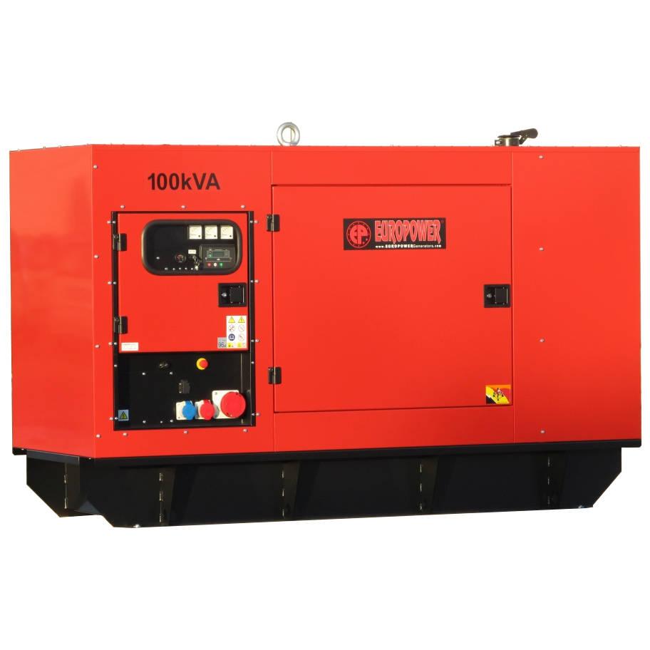Дизельный генератор EUROPOWER EPS 100 TDE в кожухе с АВР